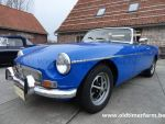 MG B Blue LHD 1974