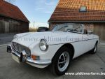 MG B  White LHD 1973
