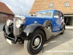 Railton Eight  Cobham saloon  Blue