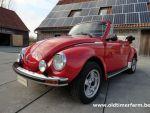 Volkswagen Kever 1303 Red Cabriolet