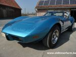 Corvette  C3 Stingray T-Top Blue 1975