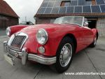MG A 1600 LHD Red 1960