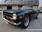 Triumph  TR 6 Blue 1972 (1972)