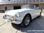 MG B White LHD 1970