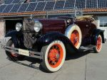 Ford A Roadster  Bordeaux