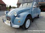 Citroën 2CV Blue 1957