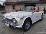 Triumph TR 4 A White