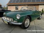 MG  B Green LHD 1967