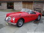 MG  A  Red  1500