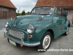 Morris  Minor 1000 Cabriolet Green