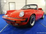 Porsche  911 carrera 3.2 Cabriolet Red