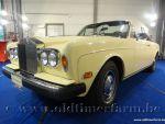 Rolls Royce Corniche Yellow '78