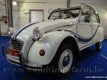 Citroën 2CV AZKA B White '84