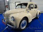 Renault  4CV Beige '58