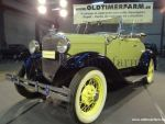 Ford A Roadster Light Green '30