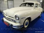 Ford Vedette V8 White '55