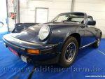 Porsche 911 3.0 SC Targa Blue '82