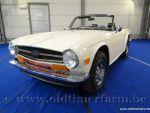 Triumph TR 6 White '74