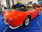 Triumph TR 4 IRS Red '67  (1967)