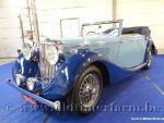 Jaguar MK IV C 3.5 Mylord  Blue '47