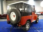 Toyota Land Cruiser B-Engine Free Born Red '77 (1977)