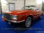 Mercedes-Benz 350SL Red '72