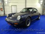 Porsche 911 3.2 G50 Carrera Coupé Blue Marine Metallic '87 (1987)
