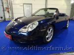 Porsche 911-996 Carrera 4 Cabriolet Blue 2000
