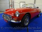 MG B Roadster Red '63