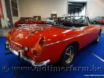 MG  B Roadster Red '71 (1971)