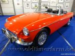 MG B Roadster Red '71
