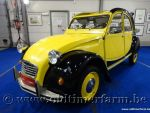 Citroën 2CV Charleston Black & Yellow '82