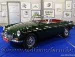 MG B Roadster Pull Handle Green '65 (1965)