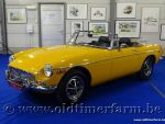 MG B Roadster Yellow Bronze '72