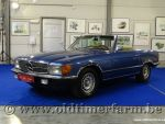 Mercedes-Benz 350SL R107 Blue '72