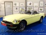 MG B Roadster Rubber Bumper '77
