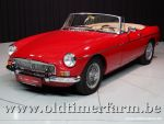 MG B Roadster Red '67
