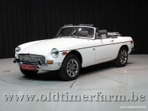 MG B Roadster White '78