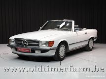 Mercedes-Benz 300SL R107 White '89 '3423'