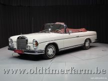 Mercedes-Benz 300SE Cabriolet White '65