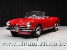 Alfa Romeo 1300 Giulietta Spider '58