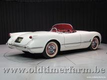 Corvette C1 White '54 (1954)