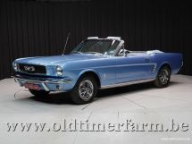 Ford Mustang Cabriolet 6-Cil '66