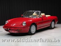 Alfa Romeo Spider 4 2.0 Red '91