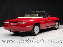 Alfa Romeo Spider 4 2.0 Red '91 (1991)