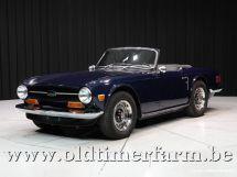 Triumph TR6 blue '72