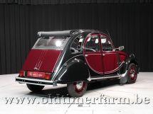Citroën 2CV Bordeaux / Zwart
