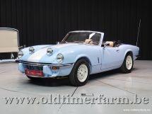 Triumph Spitfire blue 1500 '79