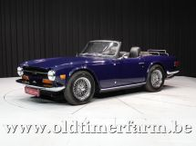 Triumph TR6 blue '69