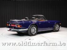 Triumph TR6 blue '69 (1969)